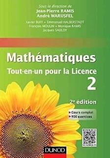 télécharger ce livre en pdf::: mathématique tout en un pour la licence