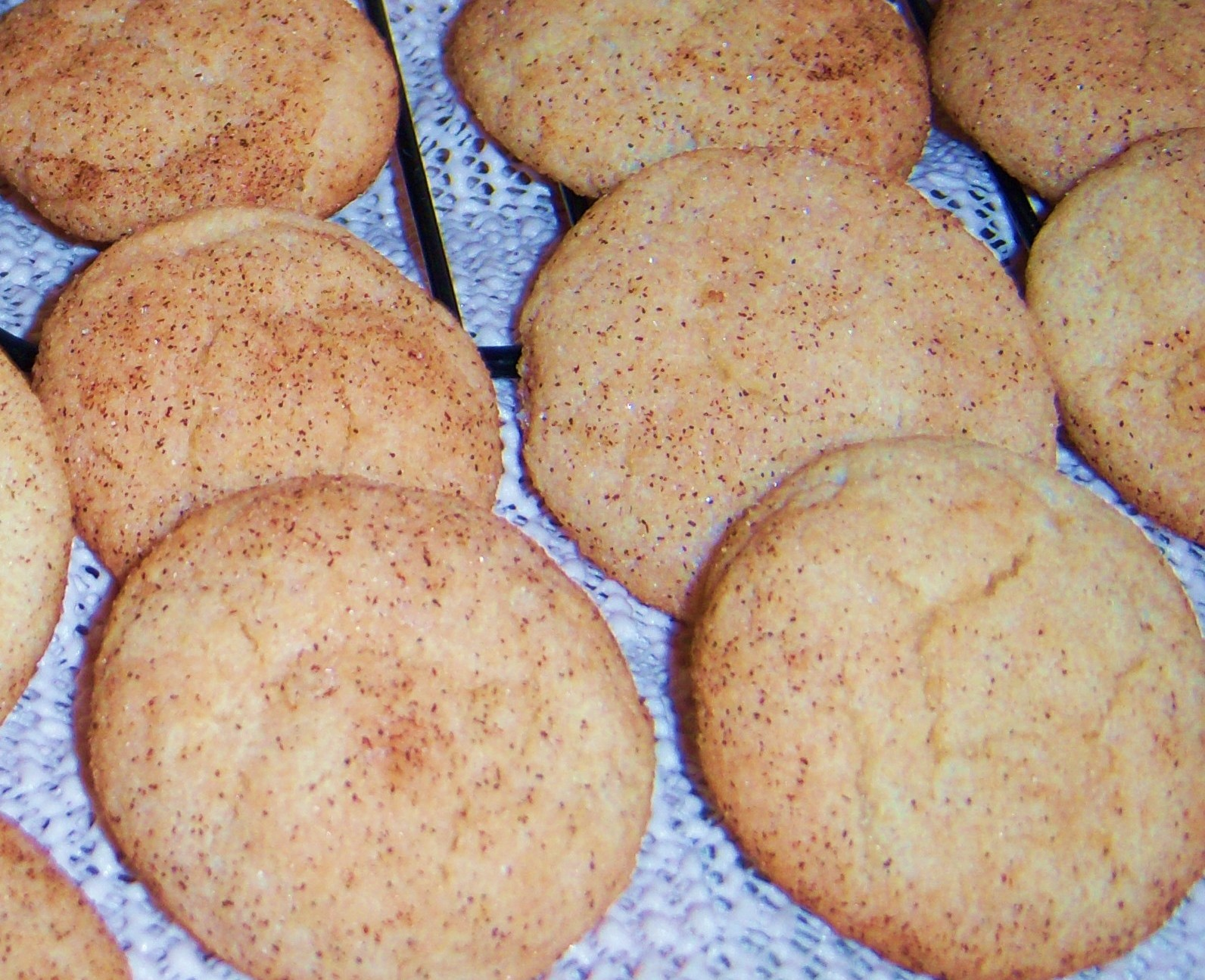 a cinnamon cookie more like a sugar cookie recipes