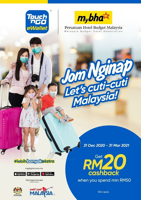 """Book Your Next Budget Holiday With """"JOM NGINAP"""" Using Touch 'N Go EWallet"""
