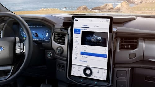 Ford launches the F-150 electric vehicle