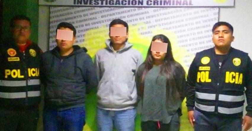 Policía detiene 3 suplantadores en Examen de Admisión a la Universidad Nacional de Huancavelica