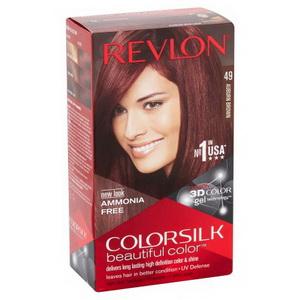 Kem nhuộm tóc Revlon 3D Colorsilk Auburn Brown hàng Mỹ xách tay