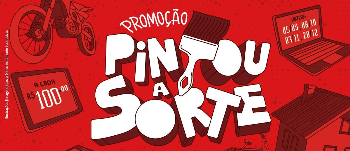 Promoção Tintas Iquine Pintou a Sorte 2019 - Concorra Prêmios
