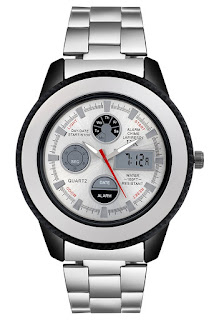 IIK Collection Silver Dial Analogue Men's Watch by KT Fashions