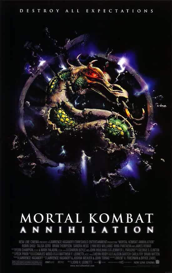 Mortal Kombat Annihilation 1997 x264 720p Esub BluRay Dual Audio English Hindi GOPI SAHI