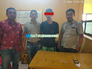 Unit Reskrim Polsek Bilah Hilir berhasil melakukan penangkapan Tindak Pidana Narkotika