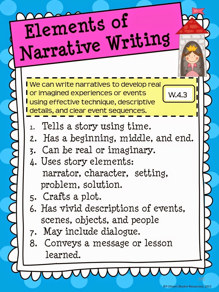 Teaching Strategies: Narrative Writing for Elementary Kids