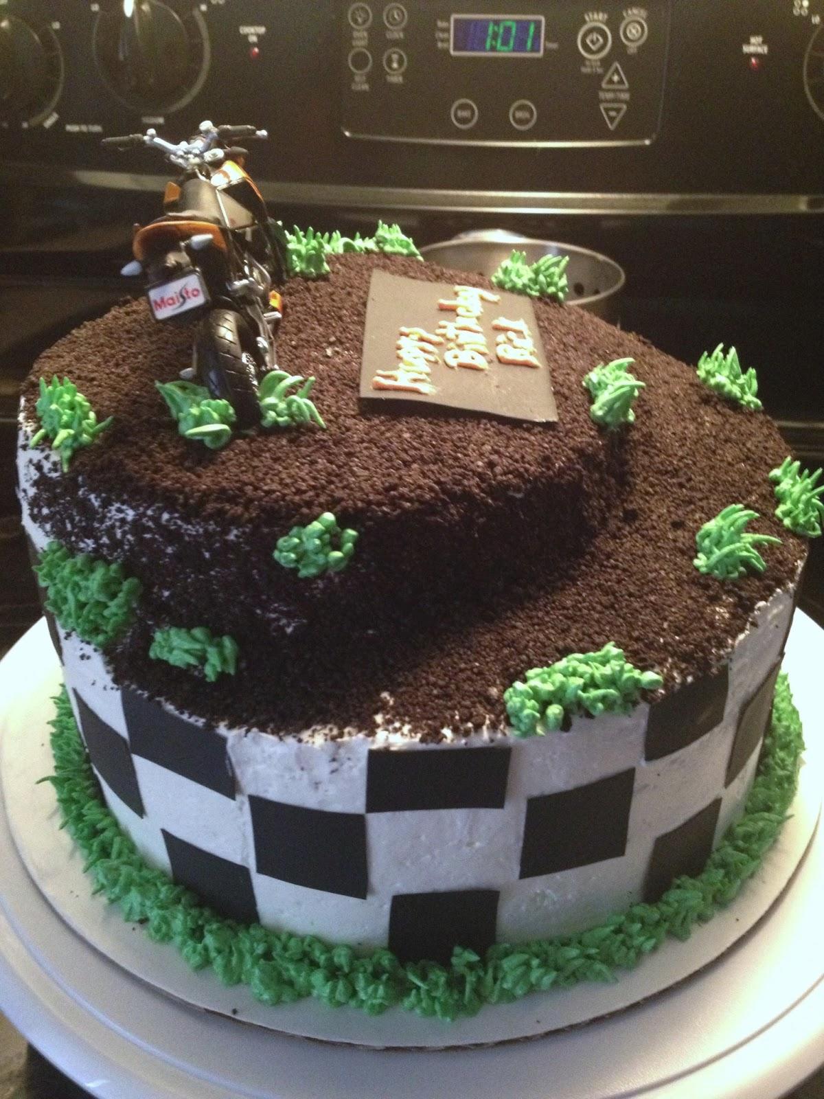 Motocross Wedding Cake