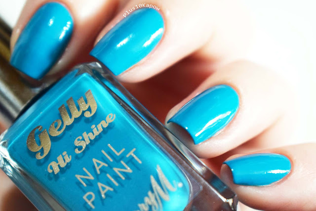 Barry M SS19 Gelly Nail Paints Swatches Blueberry Muffin