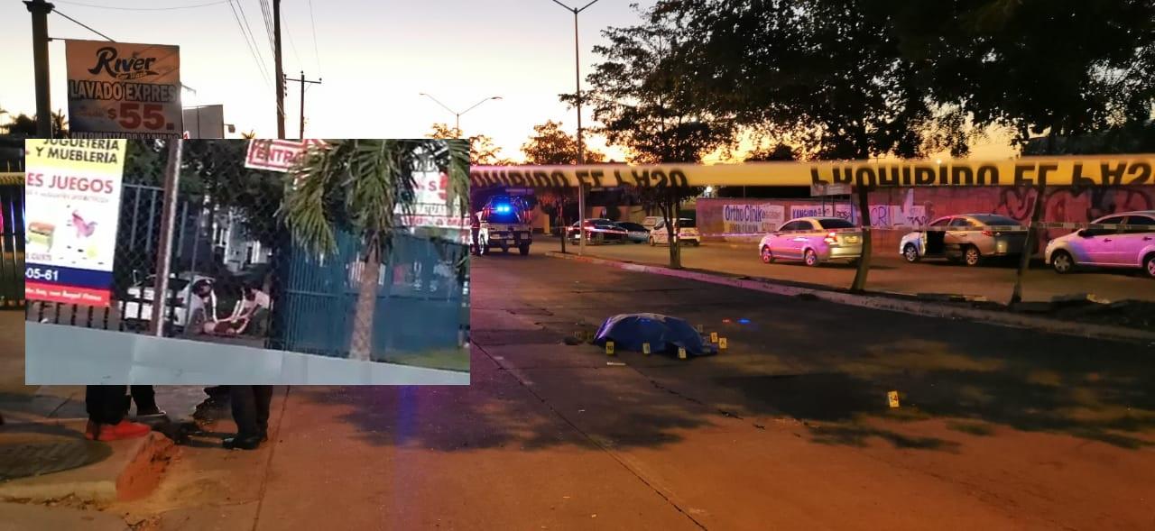 VIDEO: En Culiacan; Sinaloa Sicarios lo levantaron, forcejeo, lo bajaron del vehiculo y lo ejecutaron en plena calle