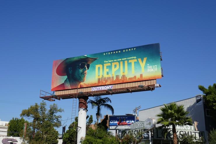 Deputy season 1 billboard