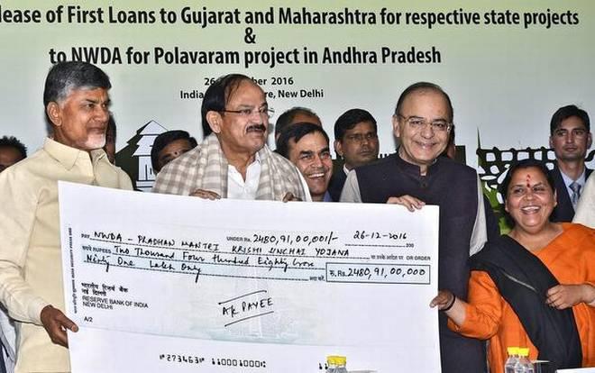 Centre Govt releases Rs. 1,981 cr. for Polavaram