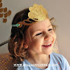 Glitter Mermaid Crown / Mahkota Mermaid Dari Kertas Glitter