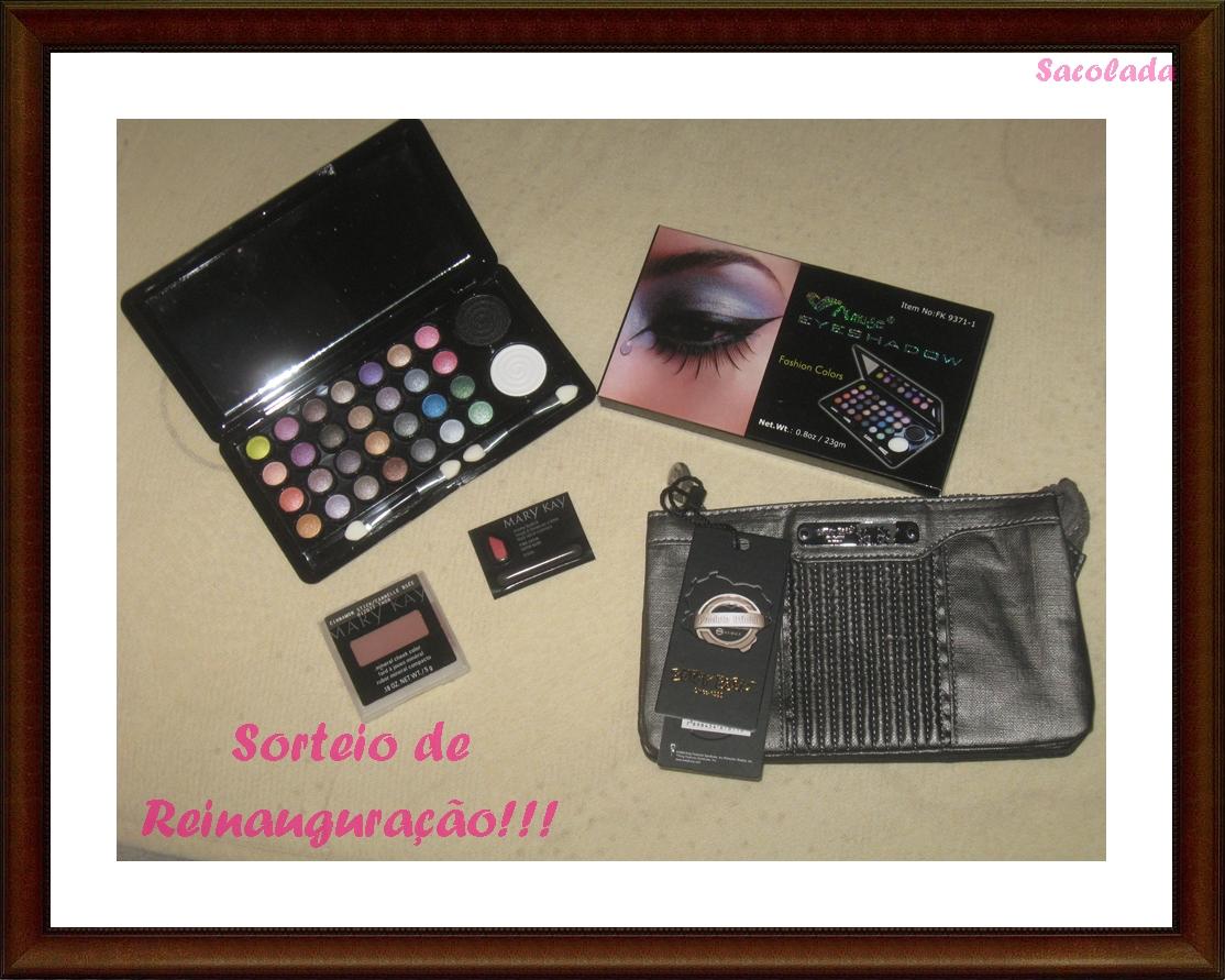 Sorteio no Sacolada.blogspot