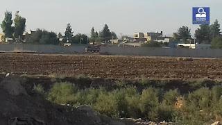 """""""حالة هلع وخوف بعد إزالة تركيا جزء من الجدار العازل مقابل الدرباسية"""" بالصور والفيديو مراسلنا يتابع الوضع"""