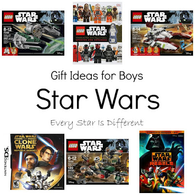 Star Wars gift ideas for boys.