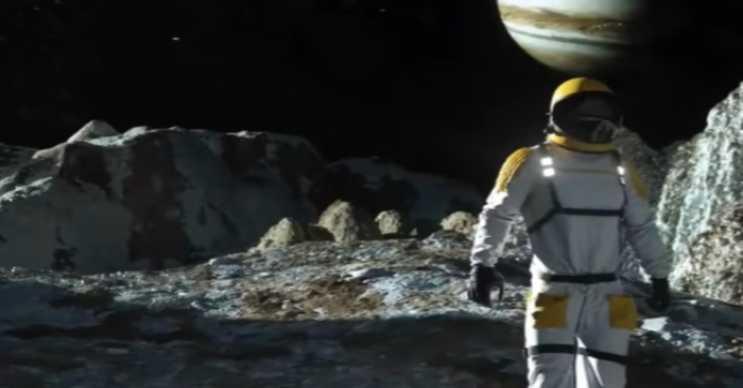 Ganymede uydusunun en tehlikeli özelliklerinden biri de düşük yer çekimidir.