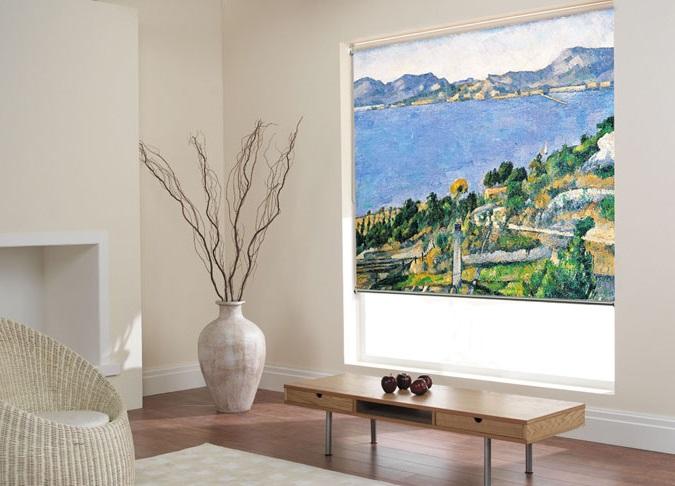 Decorando revista de decoraci n del hogar y oficina - Estores personalizados con fotos ...