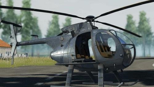 Trực thăng là thiết bị bật độc nhất của PUBG trên di động