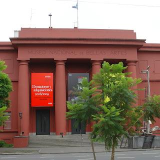 Museu Nacional de Belas Artes, Recoleta