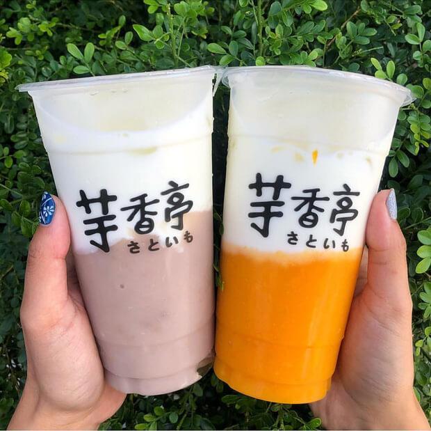 Nếu như đến Đài Loan mà chỉ thưởng thức trà sữa thì có chút bình thường. Bởi vì người dân nơi đây không chỉ ưa chuộng mỗi trà sữa mà còn rất yêu thích những món sinh tố sữa đến từ các loại củ quả như khoai môn, bí đỏ, đu đủ... Đặc biệt là khi bạn vừa thưởng thức món đậu phụ thối với mùi hương đầy thách thức thì những ly sinh tố sữa ngon lành đến từ củ quả sẽ ngay lập tức ngọt ngào hóa khẩu vị của bạn.
