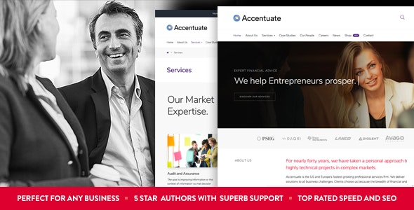 Accentuate V.1.1.6 - A Professional Consulting WordPress Theme