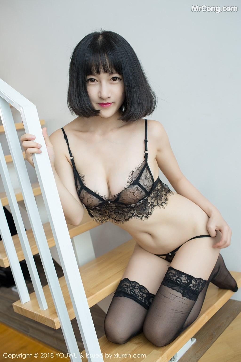 Image YouWu-Vol.114-MrCong.com-009 in post YouWu Vol.114: Người mẫu Xiao Tan Ge (小探戈-) (45 ảnh)