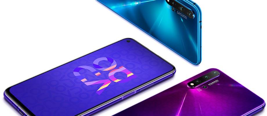 Spesifikasi Dan Harga Huawei Nova 5T Terbaru 2020