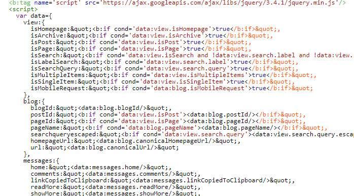 Cách đặt điều kiện cho script khi tải trang bằng thẻ b:if