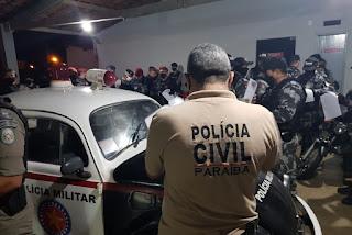 Sete pessoas são presas durante operação da Polícia Civil em três municípios da Paraíba