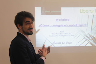 eventos anteriores: 1º workshop : como conseguir el capital digital con herramientas digitales