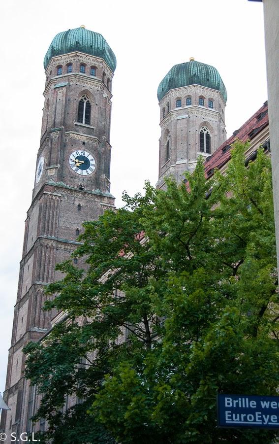 Torres de la catedral de Munich