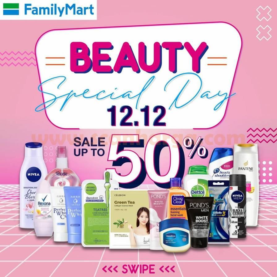 Family Mart 12.12 Beauty Special Day Deals - Diskon hingga 50%