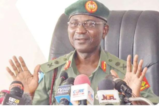 """Videos Of Shootings At Lekki Tollgate Were Photoshopped"" - Major General John Eneche #Arewapublisize"