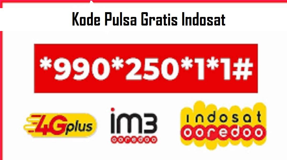 Kode Pulsa Gratis Indosat