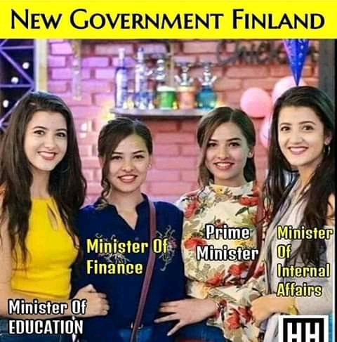 [Finland]Young Women At The Helm Of Affairs In Their 30s.