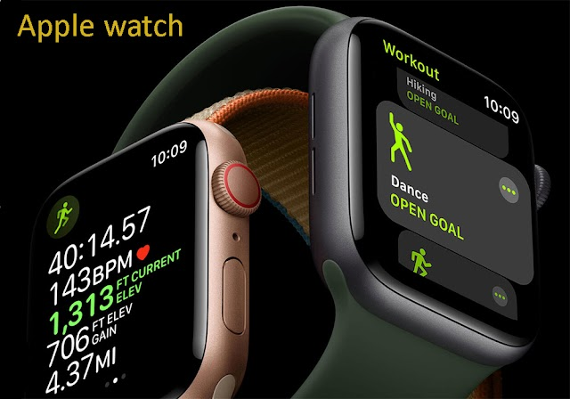Apple Watch Health Device, Full Stop Take care of yourself!