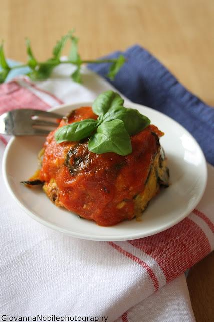 Mini parmigiane di zucchine