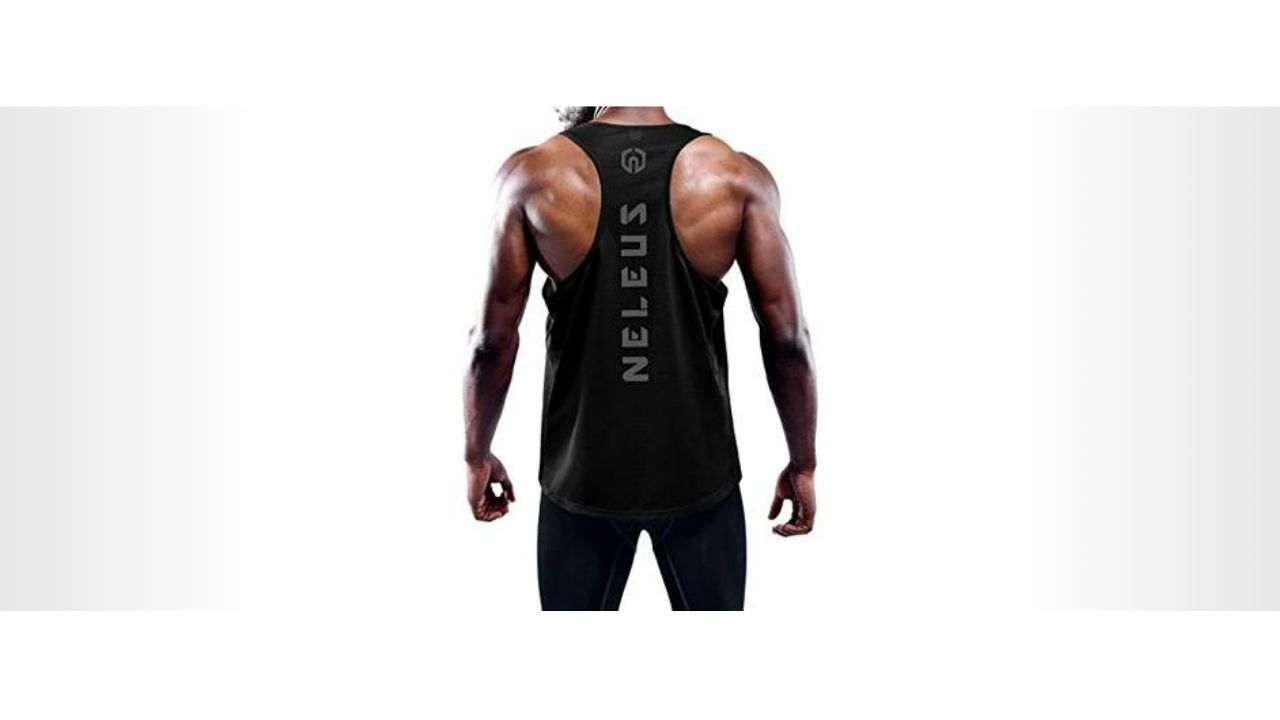 NELEUS-MEN'S-3-PACK-DRY-FIT-Y-BACK-MUSCLE-YOGA-SHIRTS