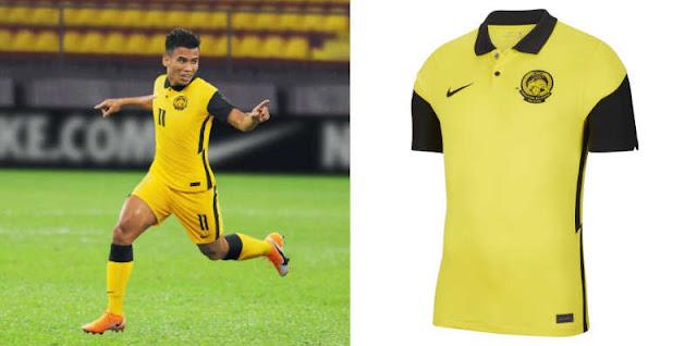 Jersi Baru Pasukan Kebangsaan Malaysia 2020/2022 Diperkenalkan Secara Rasmi