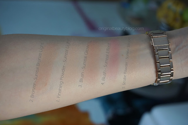 Hourglass Ambient® Surreal Light Swatches