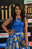 Madhu Shalini Looks Super Cute Slim trim Blue Choli Ghagra IIFA Utsavam Awards 12.JPG