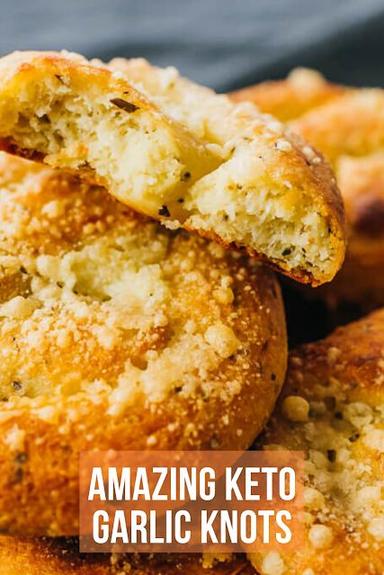 Amazing Keto Garlic Knots