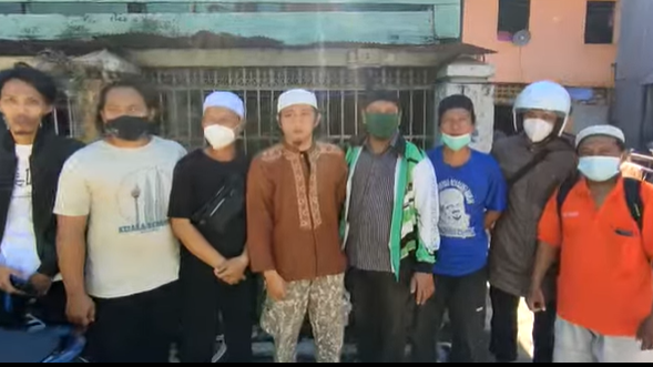Ternyata yang Berhasil Menangkap Pembakar Mimbar Masjid adalah Tim BATIK FPI Makassar