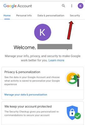 Gmail ka password badalna hai