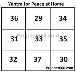 Yantra for Peace at Home