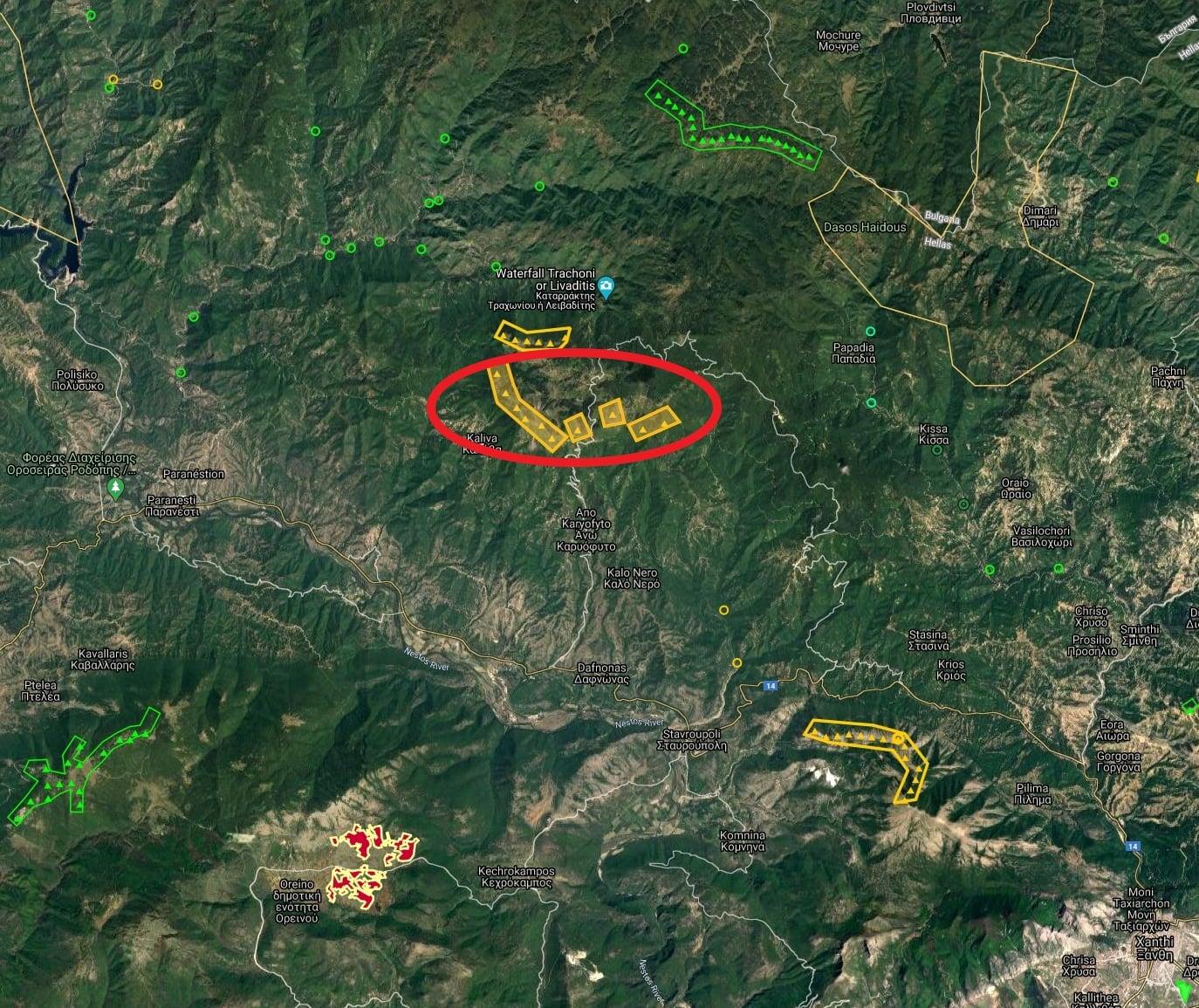 Να μην προχωρήσουν νεα αιολικά πάρκα στα βουνά της Ξάνθης ζητά το ΚΚΕ