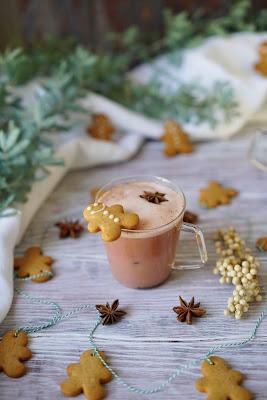 cookies de Noël , sablés , petits gâteaux , dessert de Noel , thé Chai Imperial de palais des thés