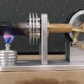 Cara Membuat Stirling Engine Sederhana