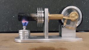 Cara Membuat Stirling Engine Sederhana